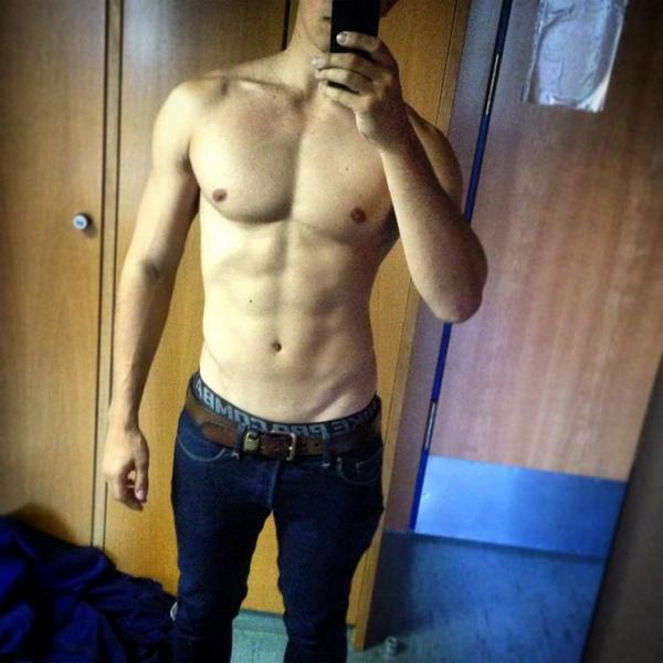 Face sixpack selfie no Abs Booth