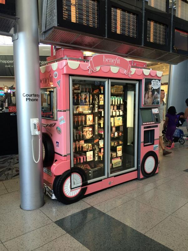 Dear @BenefitBeauty, These are adorable. And more tempting for my wallet than the magazine rack. ;) #travel http://t.co/mV7nxeEJcM