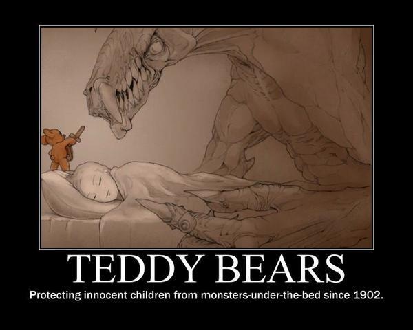OK, OK.... one last time - The Truth About Teddy Bears. http://t.co/f0NuXCvi1f