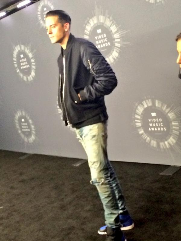 Rapper @G_Eazy everyone! #VMAs http://t.co/2JjRVhLvHK