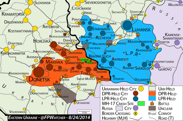 ForeignPolicyWatcher on Twitter Ukraine Map 824 Confusion