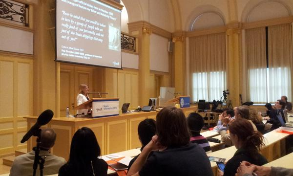 #NI2014 has started! ED Linda Lanyon welcomed the participants to Leiden University this morning #neuroscience http://t.co/YEQviHmlbS