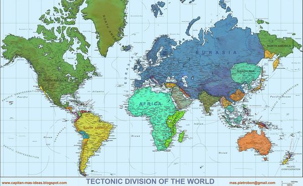 Massimo Pietrobon On Twitter Tectonic World Map Tectonic Plates
