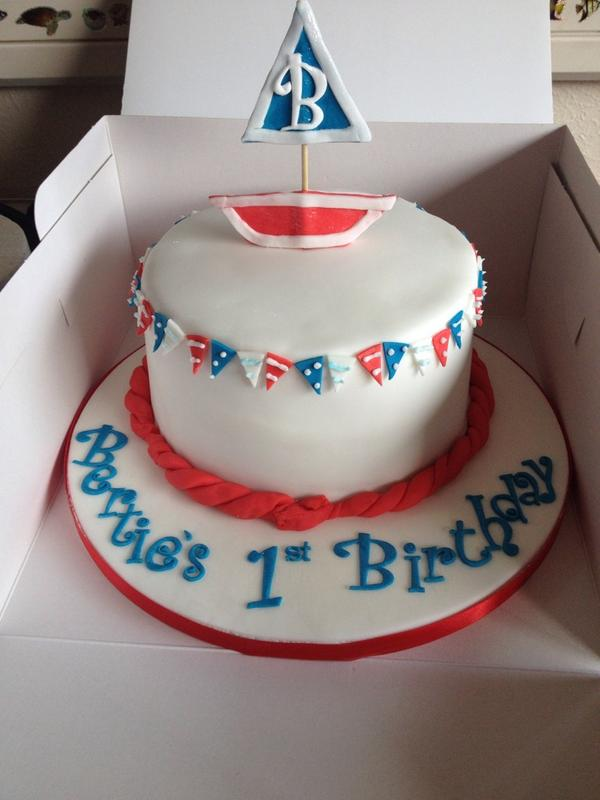 Admirable Love Cake On Twitter Nautical Themed Birthday Cake For Baby Personalised Birthday Cards Sponlily Jamesorg