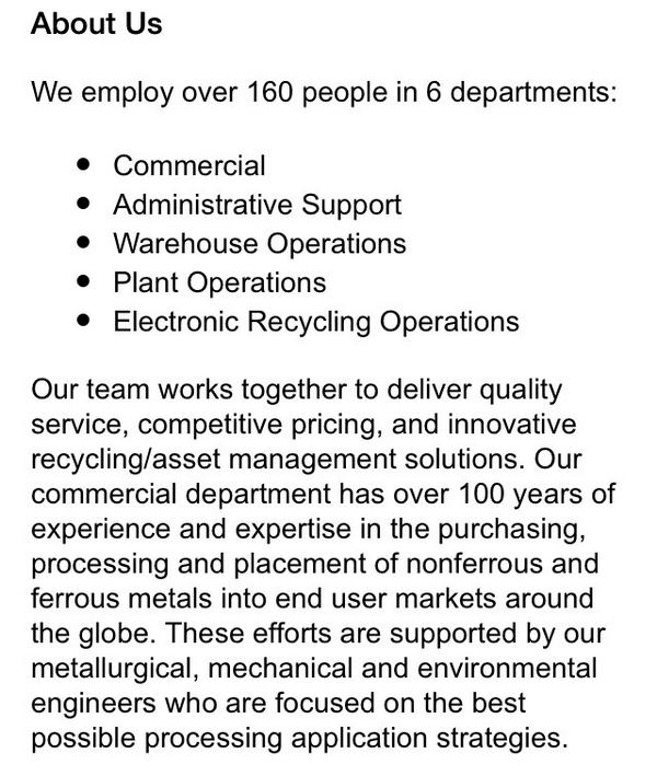 Here's info on Totall Metal Recycling in Granite City per @dmitchell_kmov @kmov http://t.co/c4Ec9IMR5N