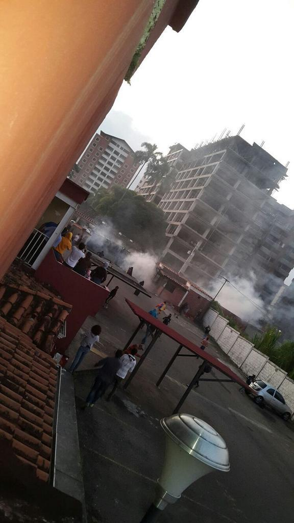 San Cristóbal amanece bajo fuerte represión este 25A