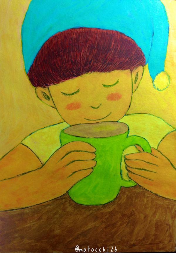 一杯のあったかいコーヒーが、心を満たしてくれたりするみたいに、ほんの小さな言葉とか、不意に見せてくれる笑顔とか、ちょっとした優しさとか、そういう小さなすべてが、この世界を輝かせてる。