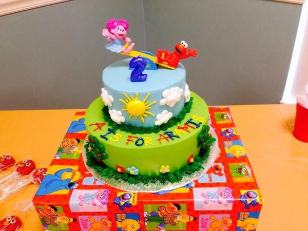 Fantastic April T On Twitter Gorgeous Sesamestreet Cake From Walmart Funny Birthday Cards Online Fluifree Goldxyz