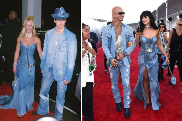 Cosmopolitan On Twitter Britney Spears Feels The Exact Same Way About Katy Perry S Denim Dress As You Do Http T Co Dag1udisza Vmas Http T Co 19gfsha87x