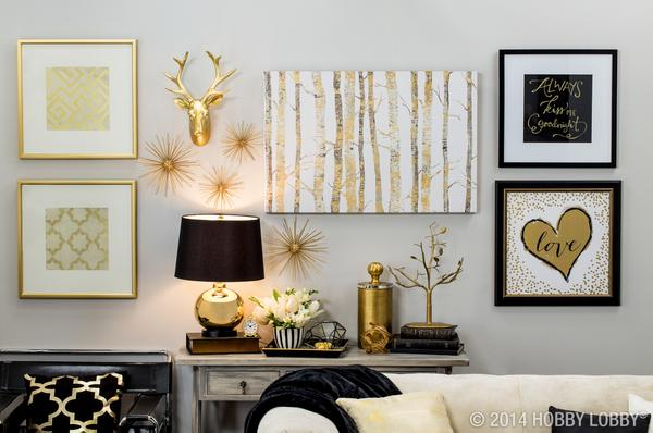 Official Hobby Lobby On Twitter Bring Home Big City Style With Metallic Gold And Black Decor Http T Co Jnlhgtkawg Http T Co Xlqfeyn7tz