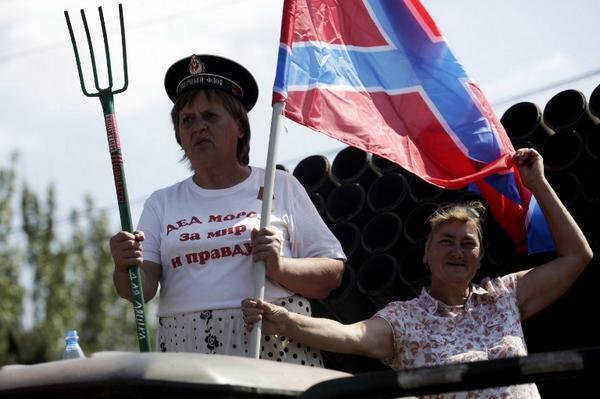 СБУ задержала чиновницу, руководившую террористической ячейкой на Луганщине - Цензор.НЕТ 2014