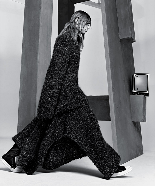 The Row Fall 2014 Marist #Sweater and Rashon #Cape, Featured in @tmagazine. Available at @neimanmarcus. http://t.co/JdXhGLPk8c