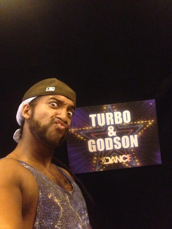 Almost time. 1st Live show for @gottodancesky1 Tune in & on and Vote #TurboandGodson #TeamAshley @Godsoncertified http://t.co/mUR24zWnLz