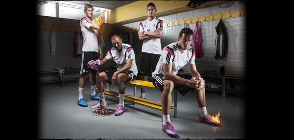 Si juegas contra nosotros, estás jugando con fuego. #wearitorfearit @realmadrid http://t.co/cacaNVLjkY