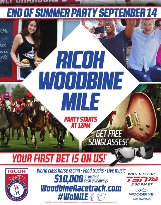 Humber Business on Twitter: Come visit our booth at the #WoodbineMile on September 14! Prizes to be won! 18+ #WoMILE http://t.co/SrMk3OKW8n