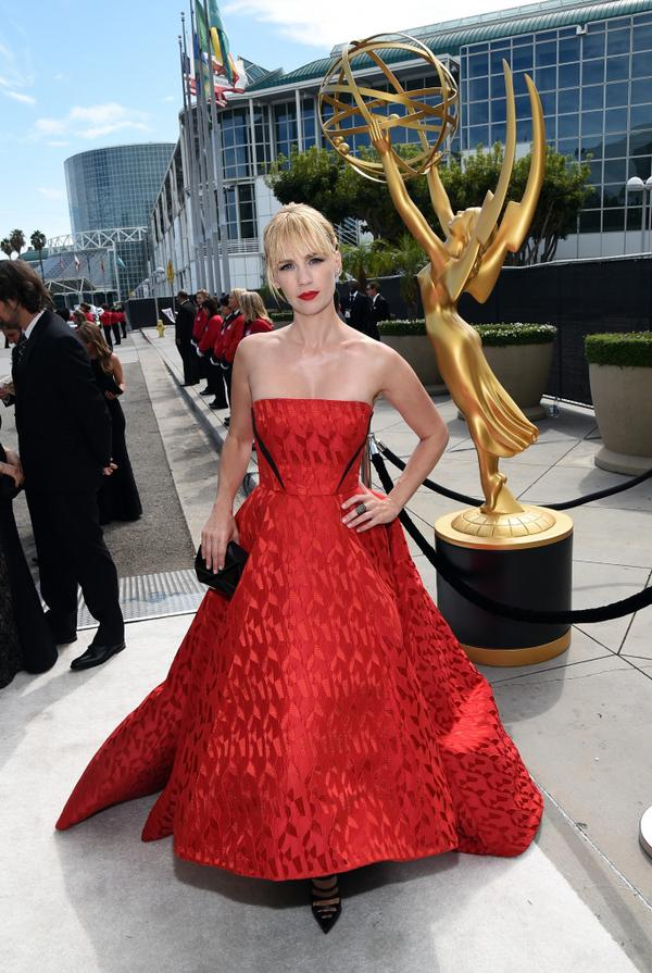 Are you mad about January Jones' red-hot @prabalgurung gown? #Emmys2014 Vote on your faves! http://t.co/nFrWtTUZJf http://t.co/cW0Xw6QnMB