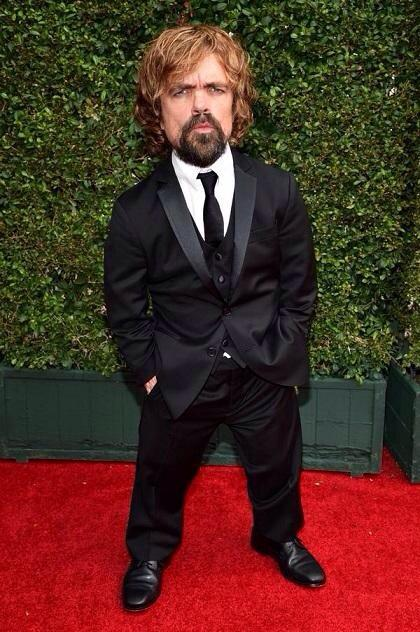 Peter Dinklage is lookin sharp, ready for the #Emmys http://t.co/mVjP2JEaPs