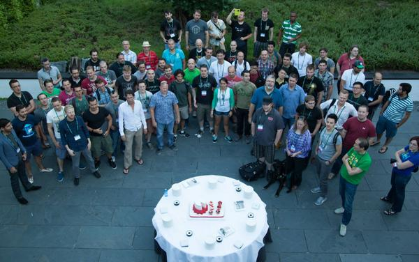 CakePHP 2014 attendees in Madrid