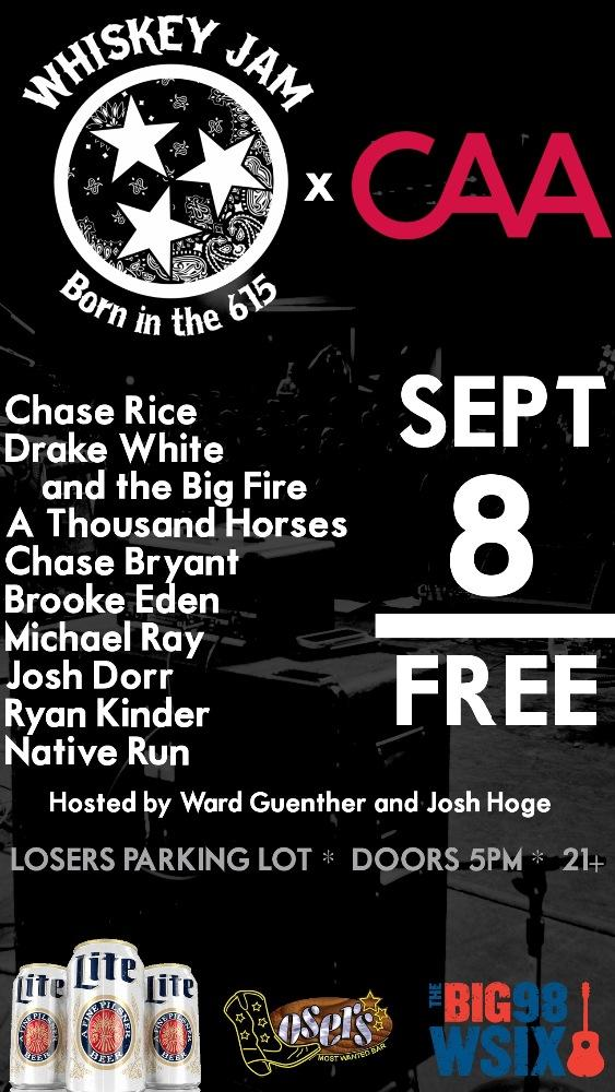 FREE OUTDOOR JAM AT LOSERS BAR PARKING LOT! You know what do. 9/8 5pm. Run & tell that!!! #turndownforwhat http://t.co/abw5R5yVcN