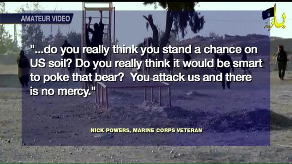 #Marine vet speaks out on #KellyFile after penning scathing letter to #ISIS. http://t.co/XCwn8CA0bS