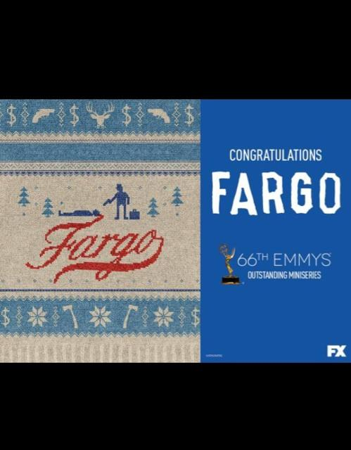 Congrats @StevieBBlackman and the #Fargo family. So proud ❤️. Can't wait for season 2!