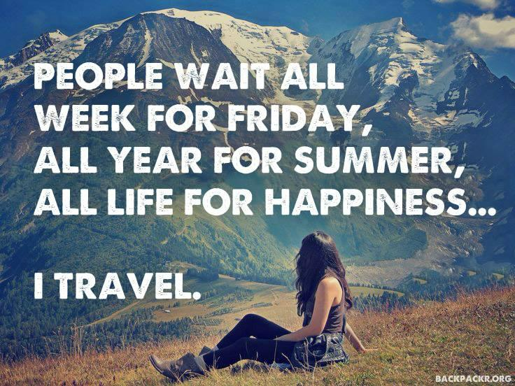 "Travel Quote Of The Week: FETA Photo On Twitter: """"People Wait All Week For Friday"