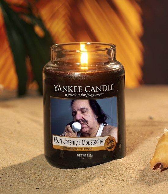 """Capcy.com On Twitter: """"Ron Jeremy Candle From Yankee"""