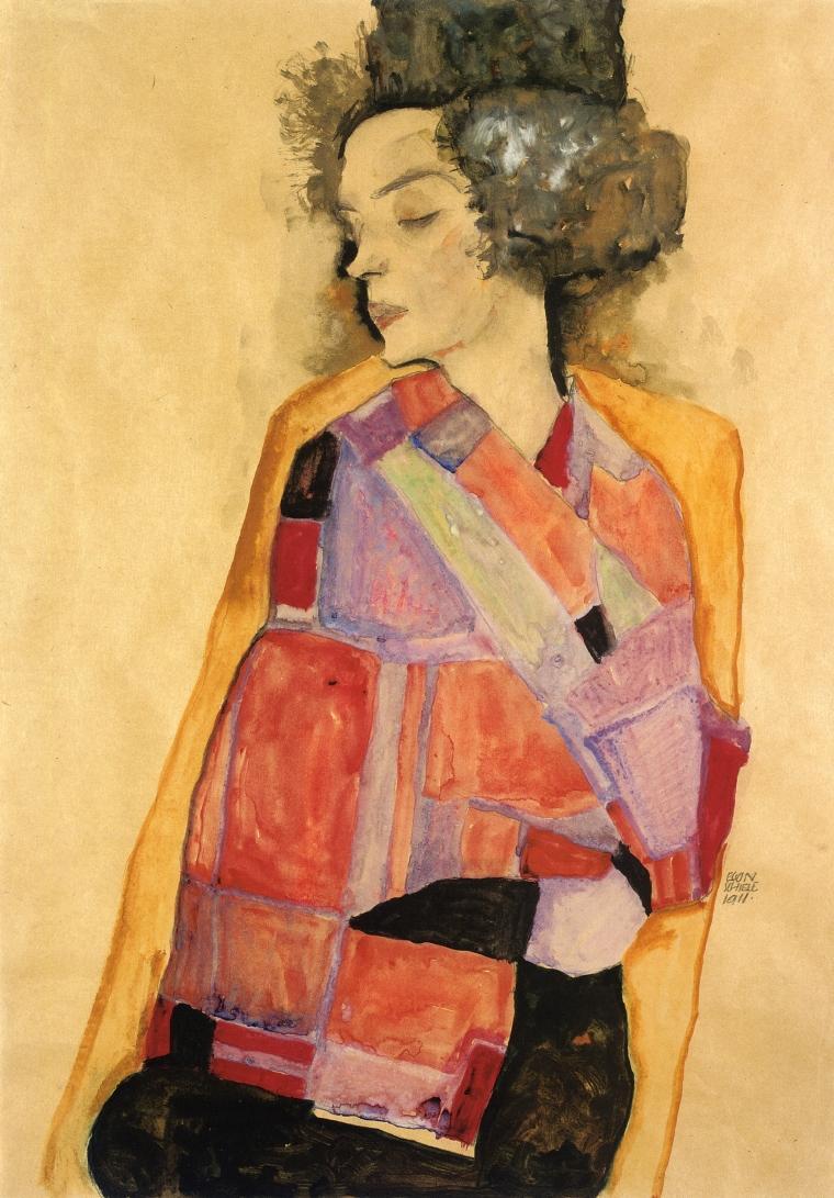 The Daydreamer (Gerti Schiele)