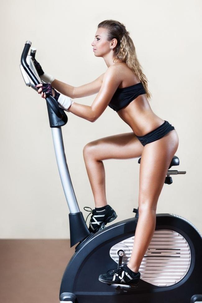 Как сбросить вес с ног на велотренажере