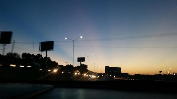 Así amanece Monterrey