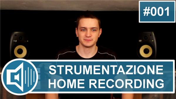 video corso home recording 001
