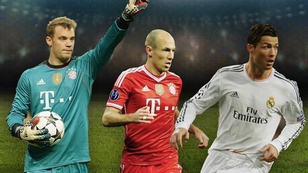 Avropada ilin ən yaxşı futbolçusu adına 3 namizəd qaldı