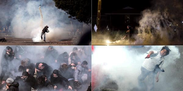 THIS WEEK IN TEAR GAS: Ecuador, Turkey, Egypt, and America.  Can you tell which one is where? #Ferguson http://t.co/viChjjZwsf