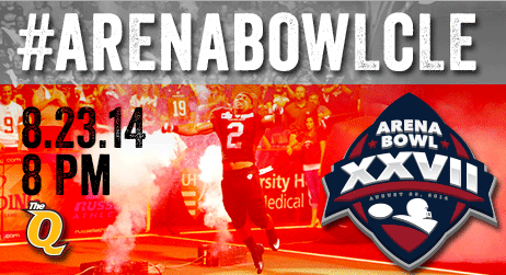 #CLEGladsPlayoffs all boils down to one night. RT to help spread the new hashtag #ArenaBowlCLE & you could win 4 tix! http://t.co/HMMRrE1ytH