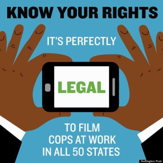 PLEASE RT -  KNOW YOUR RIGHTS: It's Perfectly Legal To Film The Cops in ALL 50 States  http://t.co/x6pZwneFjL  http://t.co/L9ycV0vjsi