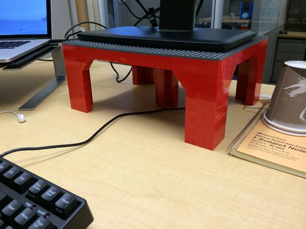 If you want a monitor stand done right, you just have to do it yourself. http://t.co/a3q2BswM8w