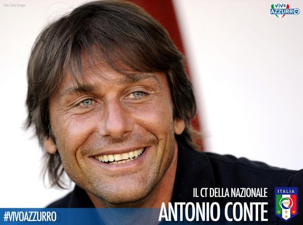 #Azzurri: è ufficiale Antonio #Conte è il nuovo Ct della #Nazionale Italiana di #Calcio!  #VivoAzzurro #FIGC #Italia http://t.co/HUX1XSIBb2
