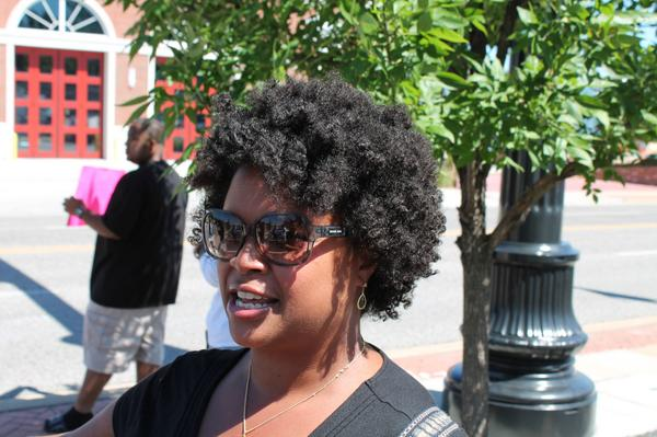 . @MariaChappelleN, who represents #Ferguson in the Missouri Senate, has been a constant figure on the ground: http://t.co/5SjXE62wZN