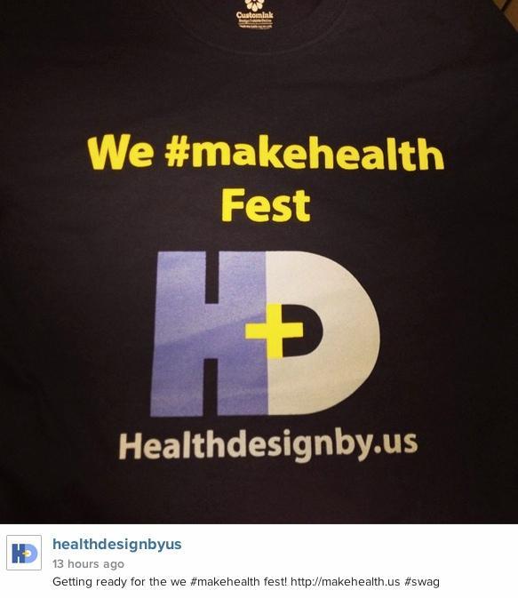 #tshirt #swag we #makehealth fest! http://t.co/pcGdUw7Efm Pls follow @healthbyus http://t.co/leYZCasHgC
