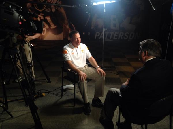 Time for @UTCoachJones to sit down with @VFL_Films http://t.co/DyV9wyodGv