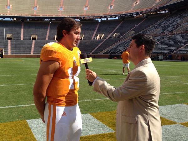 #Vols starting QB @WorleyBird_14 tell @ESPNMcGee and @SECNetwork that he's ready to the lead http://t.co/4djpKQvLxU