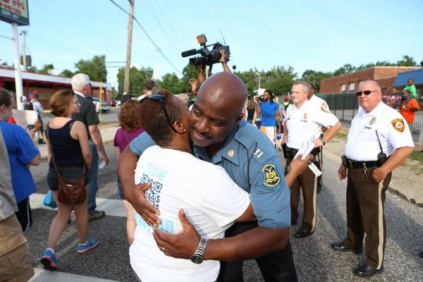 Retweeted plenty of rough pictures out of Ferguson. Glad to be retweeting this one now. http://t.co/ZfF128ZBHD