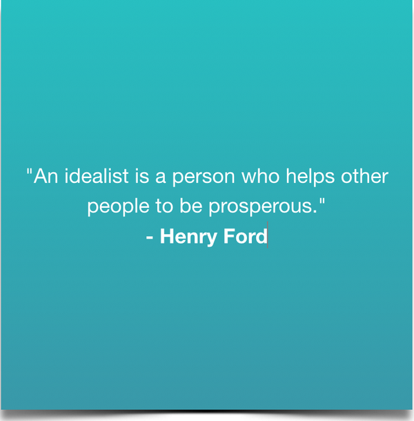 what is an idealist