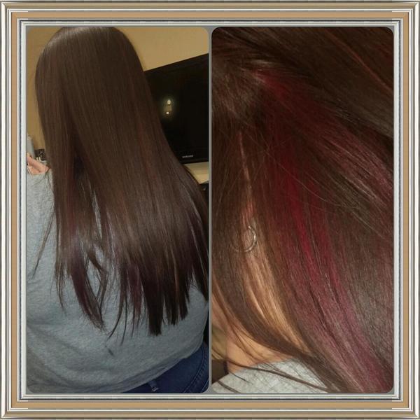 Tracey Sharp On Twitter Haircolorredpeekaboohighlights
