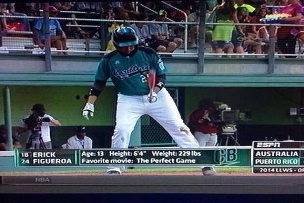 """@BaseballBros: This kids not a kid http://t.co/XXtkZxeQ8y""   If he's 13 I'm 13..."