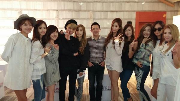 소녀시대와 함께. 이제 다 이루었습니다 ㅎㅎ with @GirlsGeneration http://t.co/lUUNszBi5D