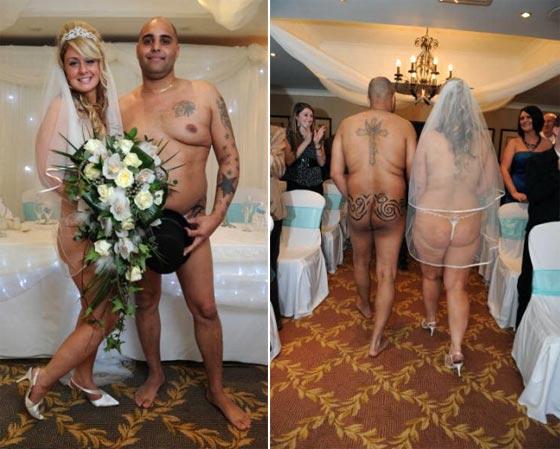 фото свадьба ню