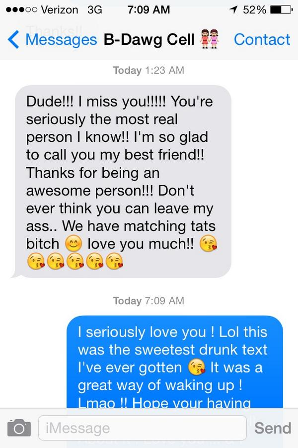 Michelle M On Twitter Nothing Better Then Waking Up To Drunk Texts