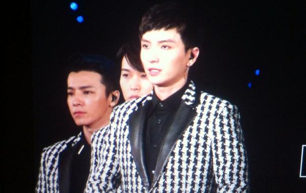140815 smt seoul leeteuk :):) welcome back on stage! http://t.co/zGLobPPqhx