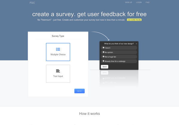 product hunt on twitter free survey creator quickly create